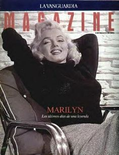 Lavanguardia Magazine - August 1992, magazine from Spain. Front cover photo of Marilyn Monroe by Mischa Pelz, 1953.