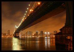 Manhattan Bridge von Michael H...