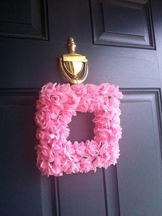 ~ DIY: Valentine Wreath ~
