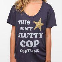 Corner Shop Cop Costume Tee