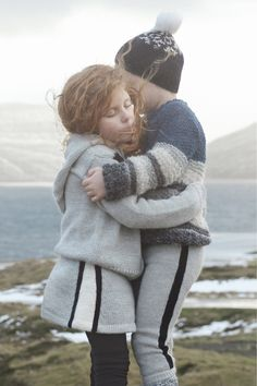 Gudrun & Gudrun AW15 children's knitwear and sustainable fashion in organic lamb wool from the Faroe Islands.