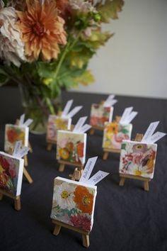 Mini Masterpiece Escort Cards