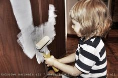 kolorowe marzenia * colorful dreams: Jak i czym pomalować meble z płyty meblowej, to dziecinnie proste !