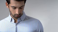 1dad572a3da8e Buy Golden Stripe luxury shirts for men online at Andamen at the best  price. Andamen