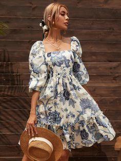 Summer Outfits Women, Summer Dresses, Boho Fashion, Fashion Dresses, Long Dress Design, Mom Dress, Russian Fashion, Latest Dress, Lovely Dresses