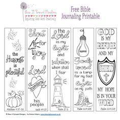 Bible Journaling For Beginners, Bible Study Journal, Art Journaling, Bibel Journal, Quotes Arabic, Bible Bookmark, Bible Doodling, Printable Bible Verses, Bible Art