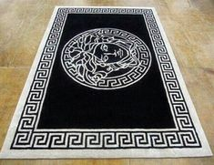 Versace Rugs For Sale - A rug can last a long time and it can't only prove to be lasting but also retain a lot of its beau Hall Furniture, Wardrobe Furniture, Furniture Design, Versace Tiles, Versace Furniture, Versace Bedding, Designer Bed Sheets, Plush Area Rugs, Wardrobe Room