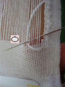 Oi Meninas(os)   Boa Tarde!!!!       Fiz mais um passo a passo de bainha aberta ou desfiadinho ou Vainicas( Espanha) ou Sfilatature ou Sfi... Hardanger Embroidery, Lace Making, Burlap, Reusable Tote Bags, Smocking, Hand Embroidery Stitches, Embroidery Stitches, Basic Embroidery Stitches, Embroidery For Beginners