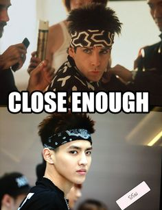 kekeke close enough Kris~!! I wonder what movie is Ben Stiller doing with his Kris like look~?? keke I will totally watch it