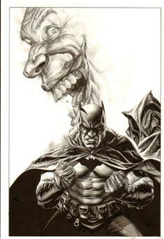 Batman & The Joker - Lee Bermejo