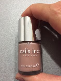 Polish of Dreams: Review e swatches smalto Nude Bristol di Nails Inc...