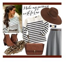 """""""Stripes"""" by edita-m ❤ liked on Polyvore featuring Chicwish, J.Crew, Steve Madden, Lack of Color, Tory Burch, women's clothing, women, female, woman and misses"""