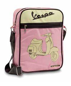 Vespa shoulder bag Vespa scooter merchandising vintage bag pink