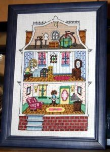 True Colors Patterns The Mouse House  Counted Cross Stitch Designs BCL-10073 Gary Hanner Design