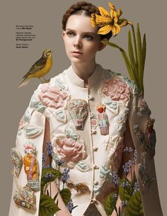 Fashion-Flora Mashups : Botanical Resort
