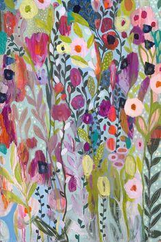 Flow in the Divine 24x36 by Carrie Schmitt at carrieschmittdesign.com