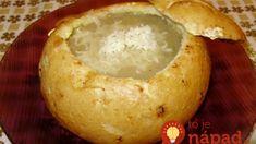 Kráľovská cesnaková polievka proti chrípke a zápalom: Úžasne jednoduchá a taká chutná, že si určite nedáte len v zime! Soup Recipes, Camembert Cheese, Food And Drink, Dairy, Soap Recipes