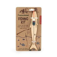 Attach this floater and line to any branch for a make your own fishing rod. Activity Games, Activities, Unique Kids Toys, Fishing Kit, Fish Shapes, Huckleberry, Bear Toy, Worms, Bobber