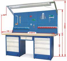 Garage Workbench Plans, Plan Garage, Garage Shed, Garage Tools, Dream Garage, Garage Tool Storage, Garage Tool Organization, Workshop Storage, Shop Organization