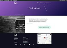 Page Service du projet Eliqo  Intégration: Léa Bureau