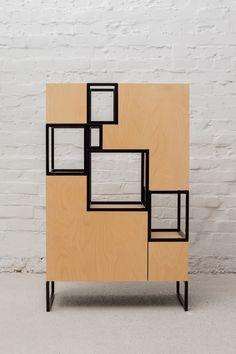 MODERN CABINET DESIGN    cabinet made by Filip-Janssens, a great furniture piece…