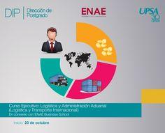 UPSA: Logística y Administración Aduanal (Logística y Transporte Internacional), inicia el 20 de octubre