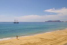 Praia de Porto Santo, Madeira, Portugal.  Crédito foto - Rute Freitas