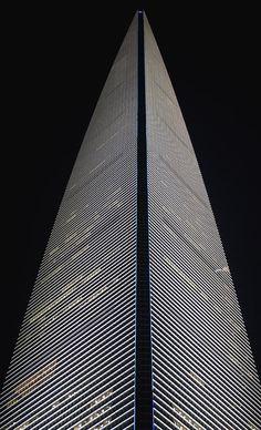 ✯ Skyscraper at Night - Shanghai, China