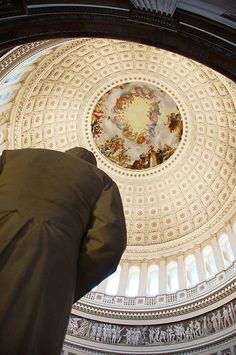 The United States Capitol dome.
