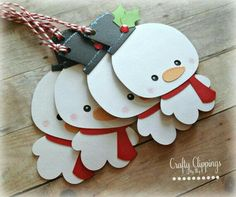 23 Ideas diy christmas cards snowman gift tags - Happy Christmas - Noel 2020 ideas-Happy New Year-Christmas Diy Christmas Tags, Holiday Gift Tags, Handmade Christmas Gifts, Christmas Gift Wrapping, Christmas Crafts For Kids, Xmas Crafts, Christmas Ornaments, Christmas Snowman, Free Images