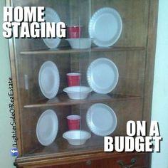 Home Staging on a Budget #realestatedonts