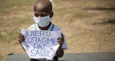 La severa escasez de medicamentos y la proliferación de casos de enfermos que mueren por falta de medicinas fueron el eje el viernes de una protesta en Car