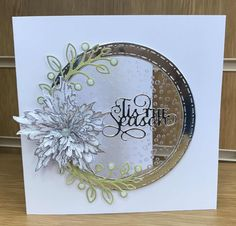 Good evening, today's card is the first from my class last week using acetate. There are several types/thickness of acetate. Diy Christmas Cards, Xmas Cards, Simple Card Designs, Acetate Cards, Stamping Up Cards, Card Making Techniques, Shaker Cards, Winter Cards, Creative Cards