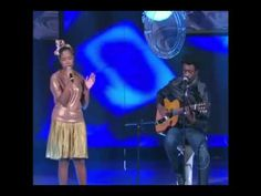 came across her on Brazilian tv...she's English but her background is Jamaican and Nigerian... she lives in Rio De Janeiro with her Argentinian boyfriend and she sings in the streets.    Jesuton ft. Seu jorge -  Rock with you (Official Music Video)