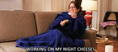 When she worked on her night cheese. | 23 Liz Lemon Quotes Guaranteed To Make You Laugh Every Time