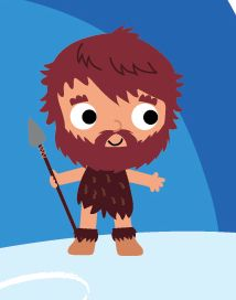 fhiona galloway illustration blog: caveman capers