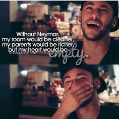 It's really!!!!! Neymar Quotes, Neymar Pic, Love Of My Life, My Love, Sport Football, Girls Dream, To My Future Husband, Football Players, Messi