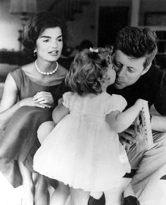 Jacqueline was, of course, the former wife of assassinated US president, John F Kennedy