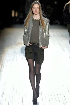 Theyskens' Theory Fall 2012 Ready-to-Wear Fashion Show - Tilda Lindstam
