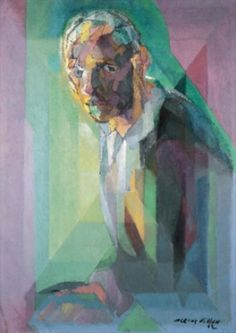 Jacques Villon, autoportrait