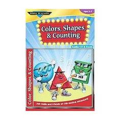 Colors, Shapes & Counting (Mixed media product)
