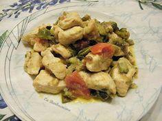 Bocconcini di pollo con verdure, ricetta con la carne