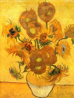 Винсент  ван  Гог. Подсолнухи, 1888