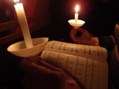 writing by candlelight Christmas Eve Candlelight Service, Episcopal Church, Abundant Life, Galaxy, Decoration, Wonderful Time, Birthday Candles, Staging, Christmas Ideas