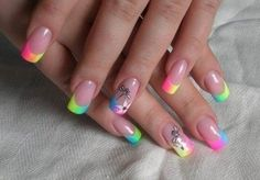 Amazing Nail Designs With Special Attractive Features : Amazing Nail Tips For Women. amazing nail art ideas,amazing nail designs,amazing nail for girl,amazing nail pictures and images Hot Nails, Hair And Nails, Artificial Nails, Fabulous Nails, Creative Nails, Cool Nail Designs, French Nails, Nail Tips, Nails Inspiration