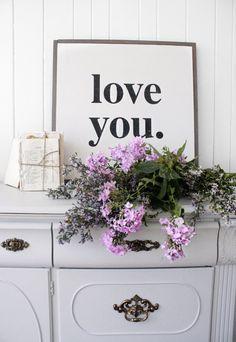 love you. by HouseofBelongingLLC on Etsy