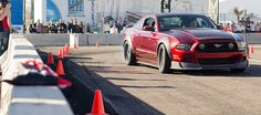 Ford Mustang RTR Sliding