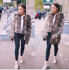 Gabi Demartino and her fancy braids Girly Outfits, Winter Outfits, Cute Outfits, Fashion Outfits, Amazing Outfits, Stylish Outfits, Gabriella Demartino, Fancy Braids, Gabi