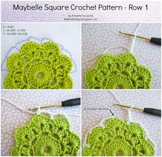 Let me tell you the story about this Maybelle Square. A couple of months ago, or even longer, this idea of turning the Maybelle flower i...