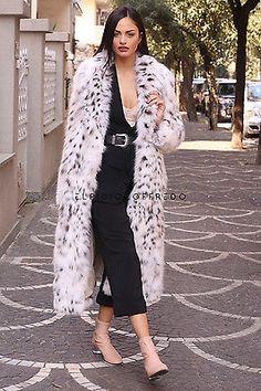 Pelz abrigo de piel abrigo lince fur coat Lynx Pelliccia fourrure lince рыси меха